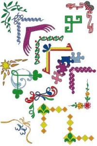 Down Home Dreams 163 Creative Corners Embroidery Designs Floppy Disk