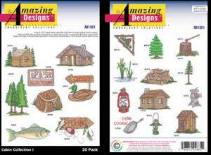 Amazing Designs / Great Notions 1321 Cabin Collection I Multi-Formatted CD