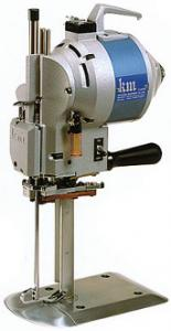 "KM Impress KS-AU-V Straight Knife Cloth Cutter Cutting Machine 6-13"" Knife Blades Cut 4-11"" AutoOil Built-InSharpenerBelts 4Motors, 500W 110/220V 32Lb"