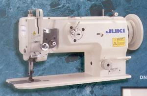 walking foot machine,walking foot upholstery machine.leather sewing machine,juki walking foot machine,upholstery machine,leather upholstery machine, Juki DNU 1541 Walking Foot Needle Feed Industrial Sewing Machine, Big M Bobbin, 9mm Stitch Length, Made in Japan, Power Stand