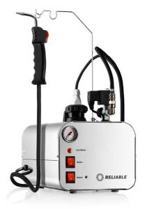 Reliable 5000CD Dental Steam Cleaner, 2.5Liter Stainless Steel Tank, 3.5Bar, 50PSI, i37 Steam Gun, 8' Hose