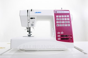 Juki HZL-K65 20 Stitch 1Touch Computer Sewing Machine,  1-Step Autosize Buttonhole, Auto Needle Threader, Top Bobbin, Drop Feed for Free Motion, 15N.P
