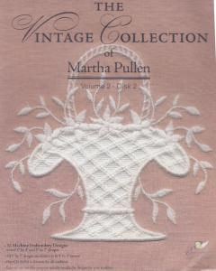Martha Pullen MPVC22 The Vintage Collection Volume 2 Disk 2  Multi-Formatted CD, Machine Embroidery