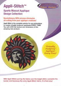 Floriani Appli-Stitch R-MDP Mascot Applique Design Collection