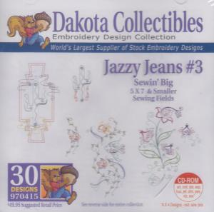 Dakota Collectibles 970415 Jazzy Jeans 3 Designs  Multi-Formatted CD