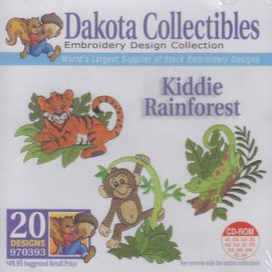Dakota Collectibles 970393 Kiddie Rainforest Designs  Multi-Formatted CD