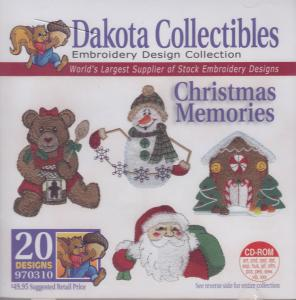 Dakota Collectibles970310 Christmas Memories Designs  Multi-Formatted CD