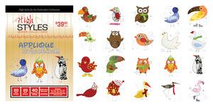 Dakota Collectibles 970425 Snow Birds Applique Embroidery Designs CD