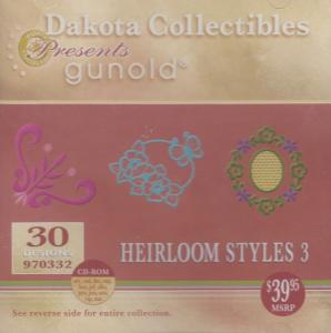 Dakota Collectibles Gunold 970332 Floral Symmetry Embroidery Designs CD