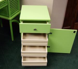 33146: Arrow 98804 Suzi Sidekick Storage Cabinet, 4 Drawers, Pistachio Green