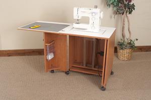 Fashion Sewing Cabinets 7400 E Saver Electric Lift Machine Cabinet 51 5wx25 75dx30