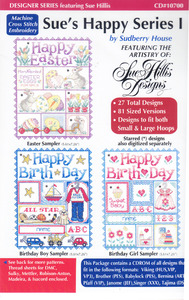 Sudberry Designs D10700 Sues Happy Series Multi-Formatted CD