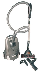 "84302: Royal DEMO SR30018 Lexon S18 HEPA Canister Vacuum Cleaner, Quiet, 11""W, 12A"