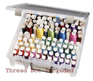 Artbin 1895 Super Satchel Thread Box Storage Case for 108 Cylinder Spools