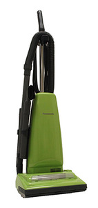 Panasonic P-MCUG223 Leaf Green Upright Vacuum Cleaner with Electrostatic Filtration,  Quick Draw On-Board Tools