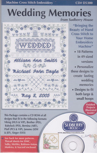 Sudberry House D5300 Wedding Memories Multi-Formatted CD