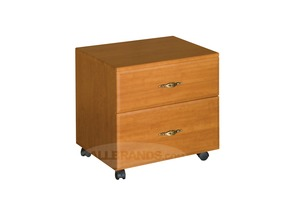 Fashion Sewing Cabinets  40 2 Large Drawer Storage Caddy in Maple, White, and Swiss Chocolate