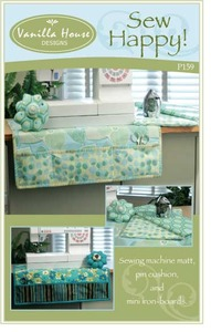 Vanilla House P159 Sew Happy Pattern