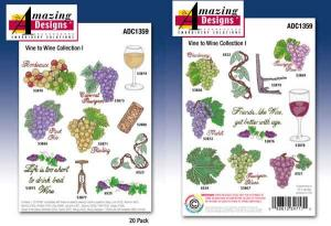 Amazing Designs / Great Notions 1359 Vine To Wine Collection I Multi-Formatted CD