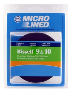 Bissell Replacement Br-1870 Filter, Dirt Cup Hepa W/O Foam Outer Sleeve Dvc