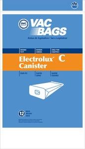 Electrolux Replacement Exr-14055 Paper Bag, Lux Tank 4Ply Dvc 12Pk