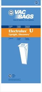 Electrolux Replacement Exr-14505 Paper Bag, Lux Discovery Upright Dvc 12Pk