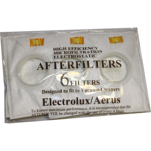 35179: Electrolux Replacement Exr-1816 Filter, After Le/2100 Hi Tech Canister 6 Pk