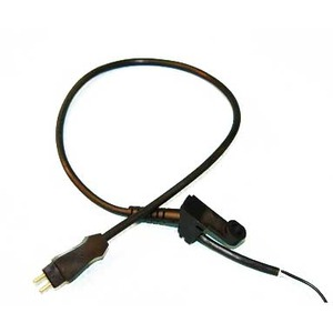Electrolux Replacement Exr-3060 Cord, Power Nozzle To Wand Pn6 Black