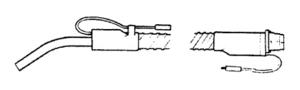 Electrolux Replacement Exr-4004 Hose, Elec Non-Pistol    Grip W/2 Pigtails Beige