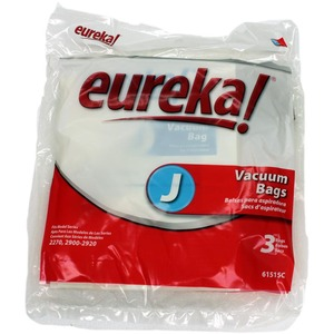Eureka E-61515 Paper Bag, Eur Style J   Upright 2270At 3 Pk
