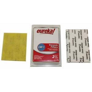 Eureka E-61940 Filter, 28115 Cass.(2) & 61333 Motor(2) 4Pk