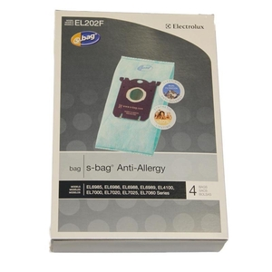 Eureka E-El202F Bag, Clinic Synthetic    Style S Anti-Allergy 4Pk