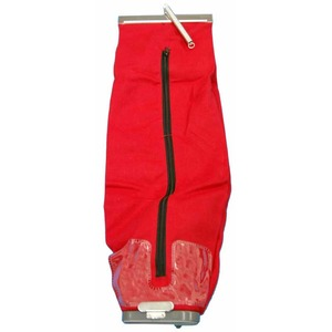 Eureka Replacement Er-1250 Cloth Bag, Comm 2Way Latch Cplg Red Env