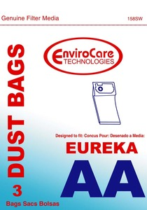 Eureka Replacement Er-14015 Paper Bag, Eur Style Aa  Victory Env 3Pk