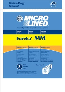 Eureka Replacement Er-1483 Paper Bag, Eur Style Mm  Micro Lined Dvc 3Pk