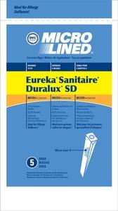 Eureka Replacement Er-1494 Paper Bag, Type Sd Micro Eureka/Sanitaire Dvc 5Pk