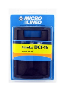 Eureka Replacement Er-1860 Filter, Dcf16 Dust Cup   Dvc