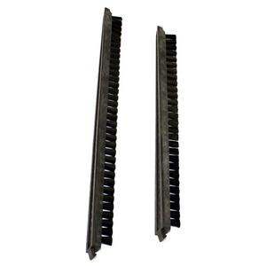 """Eureka Replacement Er-2205 Brush Strip, 16"""" Vgi Pair Black"""