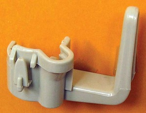 Eureka Replacement Er-7050 Cord Hook, Upper W/Bag   Hook Sanitaire Beige