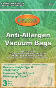 Kenmore Replacement Ker-14685A Paper Bag, Kenmore       Allergen 50688/90 Env 3Pk