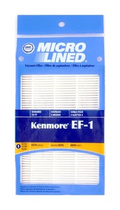 Kenmore Replacement Ker-1800 Filter, Exhaust Ef1 86889 4X6 Hepa Upright Kenmore