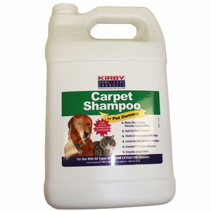 Kirby K-237907 Carpet Cleaner Extractor Shampoo 1 Gallon for Pet Owners