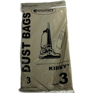 Kirby Replacement Kr-14305 Paper Bag,       Style 3 Heritage 2Hd-Leg Env 3Pk