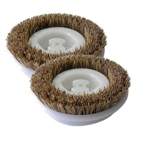 "Koblenz Ko-2450 Scrub Brushes, 6"" Diameter Pair, Floor Scrubber"