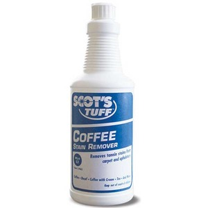 Scots Labs Sl-274C032 Stain Remover for Coffee Spills, Case of 12 Bottles x 32oz Each