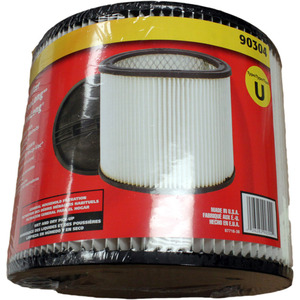 "Shop Vac Sv-90304 Filter, Cartridge 6"" Tall 7.5"" Dia"