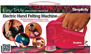 Boye Simplicity 881494001 Hand Held Electric 6 Needle Punch Felting Machine