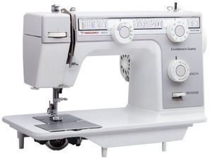 Dragonfly, Gemsy, DF393, goldstar, 393, janome, 24, stitch, Basic, Flat, bed, Multi, Function, Domestic, Sewing, Machine
