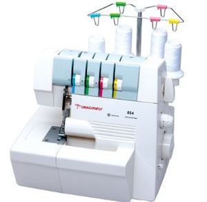 Dragonfly, Gemsy, Gemsy Jiasew, DF854, consew tu854, Multifunction, Overlock, Serger, Coverstitch, Machine, 2-3-4 Thread, (DF14U857)