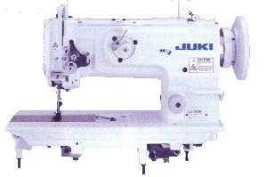 4859: Juki LU-1508NH Heavy Duty Walking Foot Needle Feed Sewing Machine, Stand